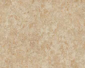 Wallpaper tan beige teal blue faux texture rustic for Cream wallpaper for walls