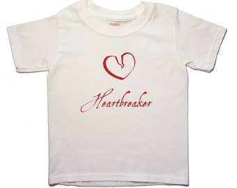 Valentine's Day, Heartbreaker, Toddler Tee