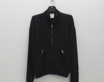 Agnes b Sweatshirt Men Size S/M Vintage Agnes b Jacket Agnes b Vintage Sweater Jacket Made in Japan Size 2