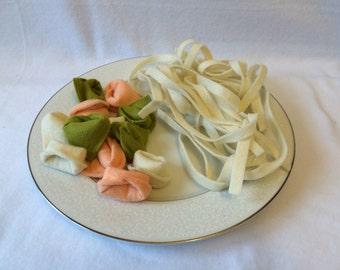 Felt Pasta Set, Pick 5 Varieties, Felt Food, Play Food