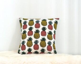Pineapple Print Envelope Cushion Cover