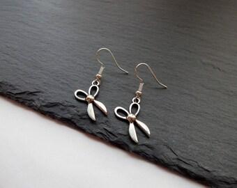 Scissor Earrings, Craft Earrings, Sewing Earrings, Charm Earrings, Hairdresser earrings, Scissors Earrings
