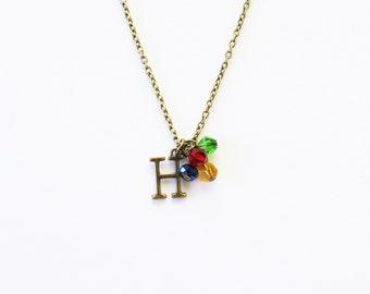 Harry Potter Hogwarts Charm Necklace