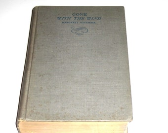 Gone With The Wind Margaret Mitchell September 1936 Edition Vintage Book