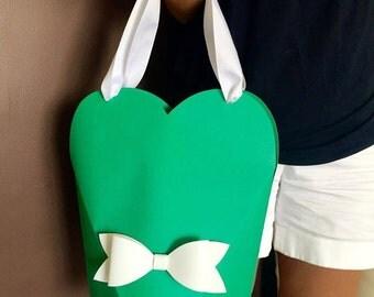 Heart shape bags for gift + mono