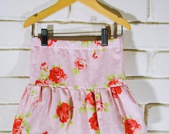 Double Ruffle Skirt - Pink Rose (M)