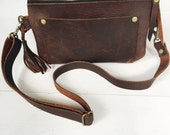 leather fanny pack, leather hip bag, brown leather, belt bag, travel pouch, festival fanny pack, travel hip bag, fanny pack, hip pouch