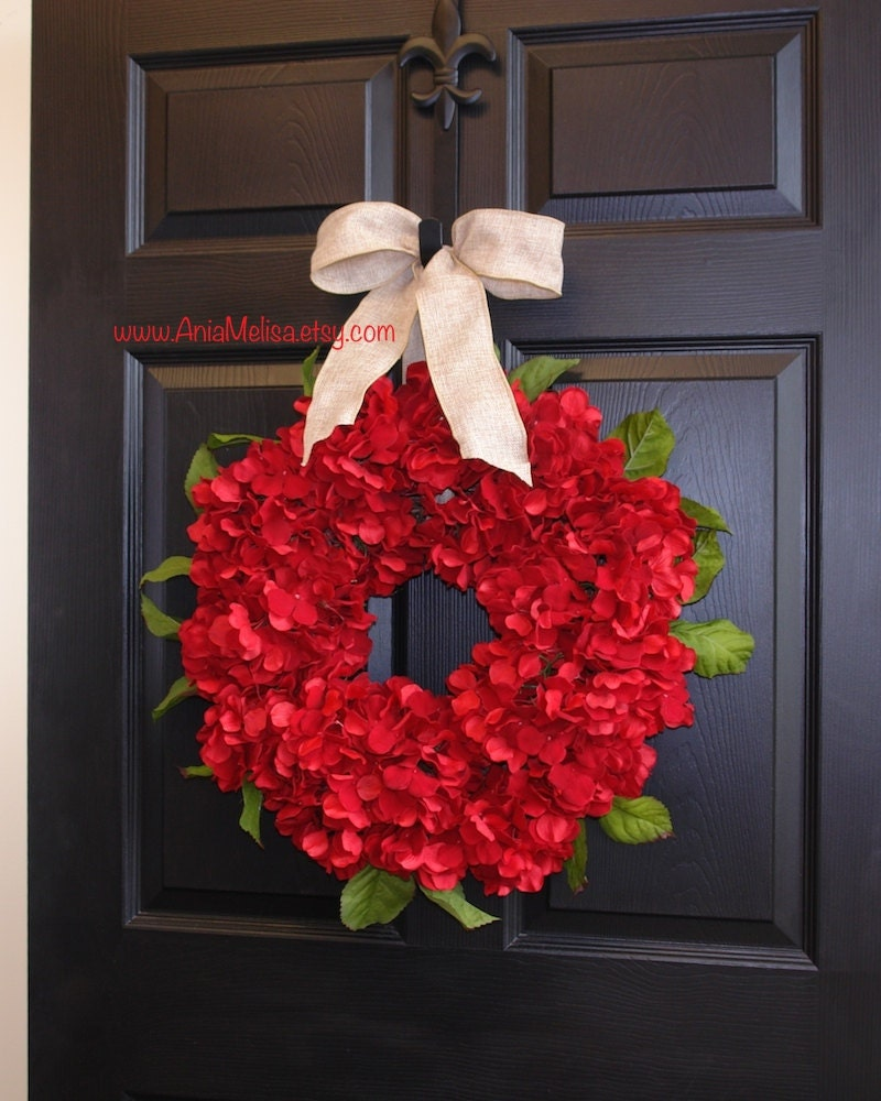 Christmas wreaths for front door wreaths holiday by aniamelisa for How to make christmas door wreaths