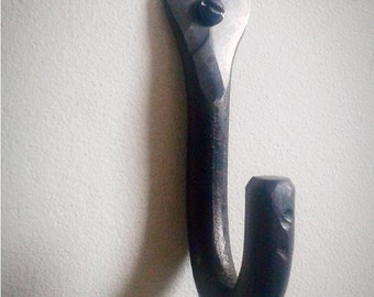 Coat Hook. Hand forged