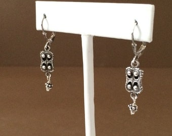 Sterling Silver Desjardins Earrings