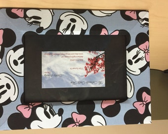 Minnie Mouse Wrapped Wooden Frame