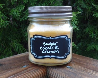Sugar Cookie Soy Candle/Soy Candle/Sugar cookie Candle/Teacher Gift/Cookie Candle/Christmas Candle/Gift for Mom/Stocking Stuffer/Cookie