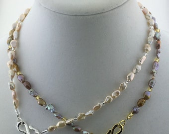 Freshwater Pearl Necklace MN1641 or MN6142