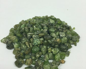 Tumbled Peridot - Polished Peridot - Tumbled Peridot Gemstone - Healing Crystal - August Birthstone - Peridot 5pcs