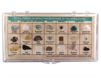 Rock Collection - Rocks Minerals Fossils and Gemstones