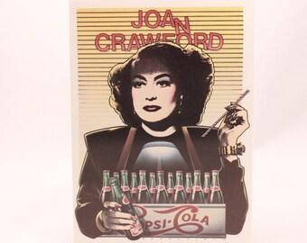 Mick Brownfield Greeting Card. Joan Crawford