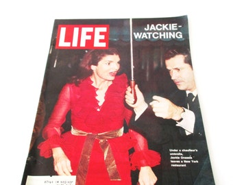 Life Magazine - Jackie-Watching February 12, 19711