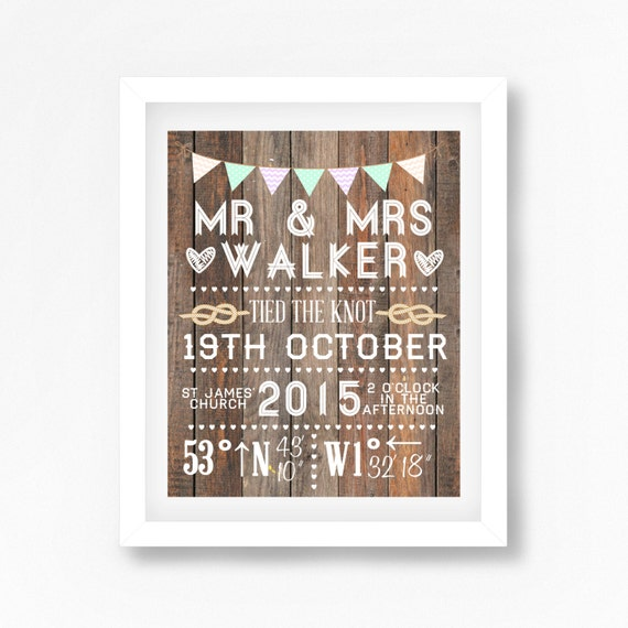 Gift For Newlyweds Wedding Gift For Couple Personalized Mr