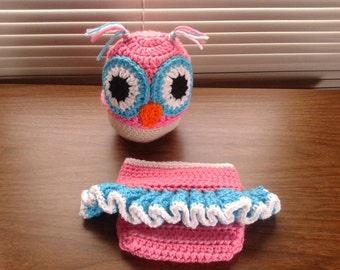 Pink Owl Set