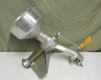 Vintage Tabletop Berarducci Bros. Strainer for canning puree tomato food mill etc..