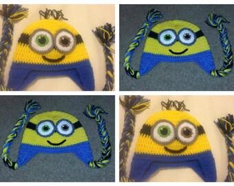 Crochet Bob Minion  Hats