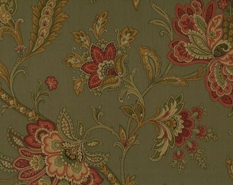 Stunning Jacobean on Green RL20014 - Sold by the Yard