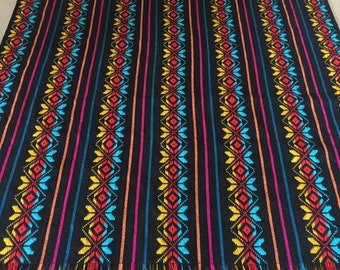 Mexican Christmas Table Runner Or Napkins Bohemian By