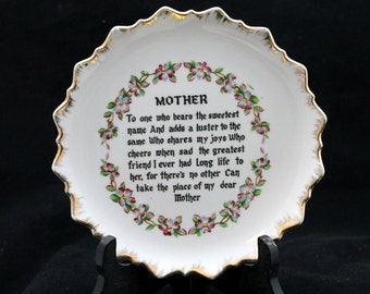 Mother Decorative Wall Plate
