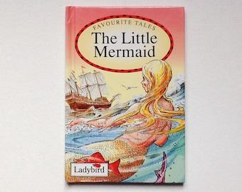 Ladybird The Little Mermaid Book, Ladybird Favourite Tales, Gloss Hardback, 1993, 00936