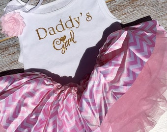 "Father's Day Outfit, ""Daddy's Girl"" set"