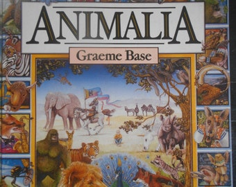 Animalia By Graeme Base. Hardcover. 1986.