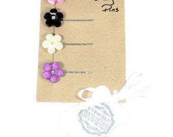 The Marie Antoinette Flower Bobby Pin Set