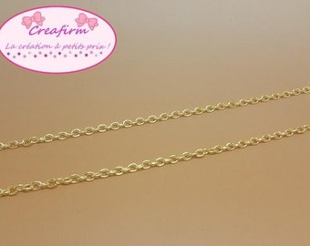 5 m chain Golden 4x3mm