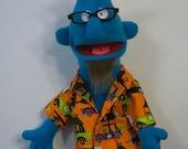 Handmade Puppet BEACH GOIN' BARRY