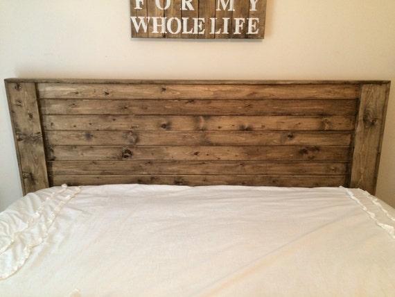 Solid Wood Farmhouse Headboard