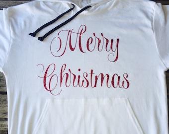 Christmas  sweater. Christmas  hoodie.Merry  Christmas Sweatshirt. Santa sweater. Made by ThinkElite1.