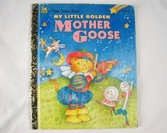 My Little Golden Mother Goose – Vintage Children's Little Golden Book – 300-69