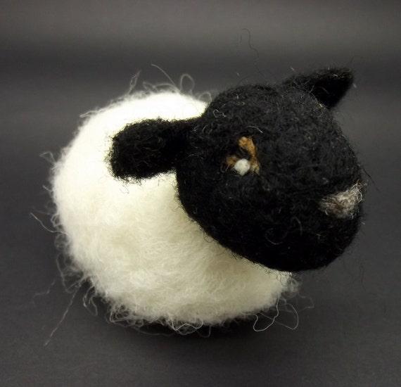 scottish blackface lamb ornament needlefelt made in