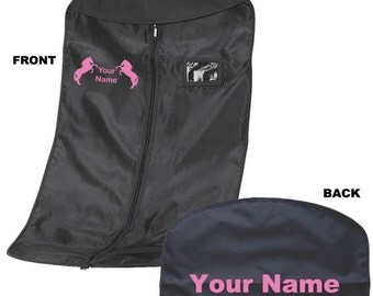Personalised Suit Carrier -Riding Jumping Horse Pony Jodpurs Bag Show Jacket 10