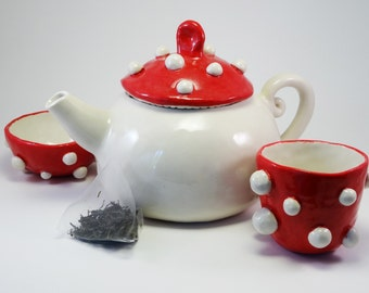 Toadstool Tea Set