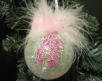 Ballerina Christmas Ornament, Prima Ballerina, Ballerina Decor, Pink Ornament, Tree Ornament, Ballerina Gift, Girl Dancer, Ballet Dancer