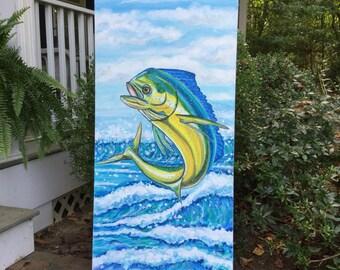 Maui Tuna Painting