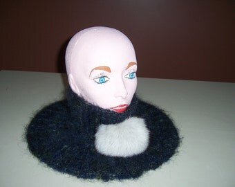SCARF (COL) recycled fur