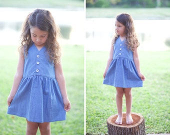 Summer Dress Soft Jean