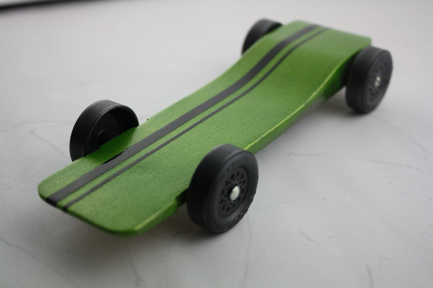 Pinewood derby car kit fast speed complete ready to by