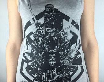Star Wars Vest Tanktop The Force Awakens Mens Womens tank Starwars Darth Vader Gift