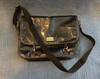 Black Esprit Messenger Bag