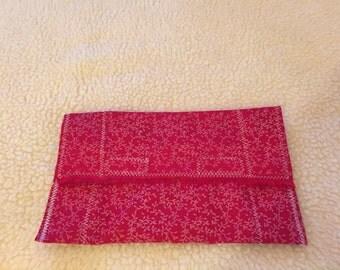 Washable fabric coupon organizer