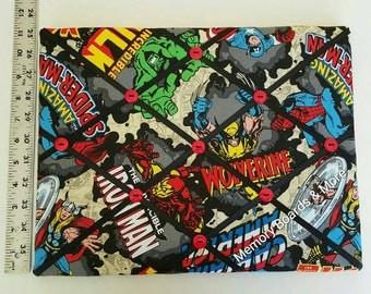 Marvel Super Heros Captain America Fabric Memory Board