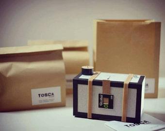 TOSCA, a handmade pinhole camera